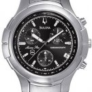 Bulova 96G19 Marine Star Black Dial Chronograph Men's