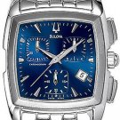 Bulova 96G26 Blue Dial Chronograph Men's
