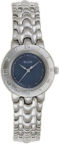 Bulova 96L30 Bracelet Blue Dial Ladies