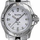 Bulova 96L44 Marine Star White Dial Ladies