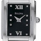 Bulova 96L52 Black Dial Ladies