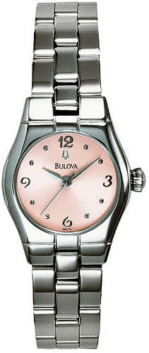 Bulova 96L76 Stainless Steel tone Ladies