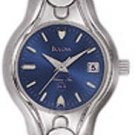 Bulova 96M27 Stainless Steel tone Ladies