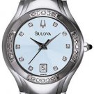 Bulova 96R02 Diamond Bezel Ladies