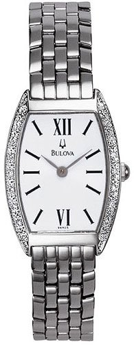 Bulova 96R05 Diamond Bezel Ladies