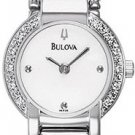 Bulova 96R08 12 Diamonds Ladies