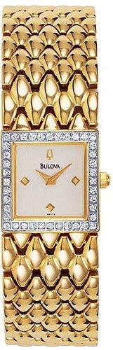 Bulova 98R72 Diamond Bezel Ladies
