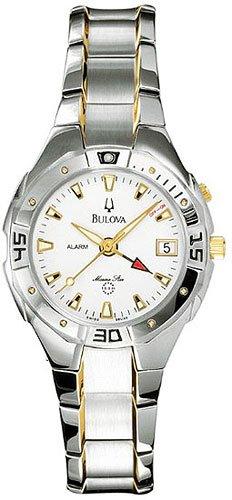 Bulova 98U32 Alarm Marine Star Two Tone Ladies