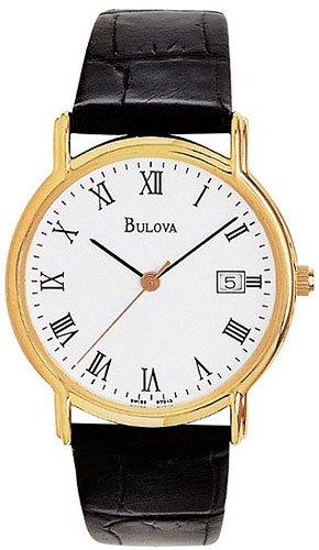 Bulova 97B13 Leather Strap Men's