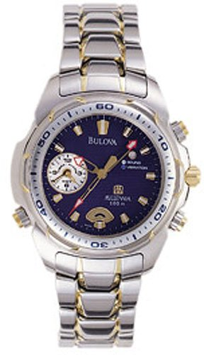 Bulova 98A51 Vibra-Alarm Men's