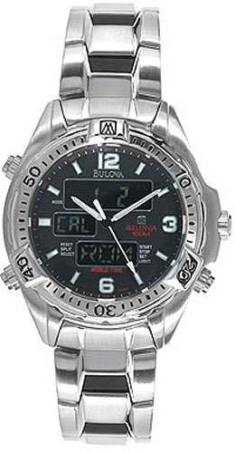 Bulova 98G66 World Time Men's