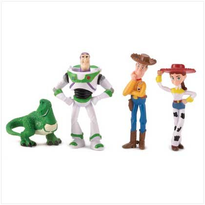 DISNEY TOY STORY FIGURINES