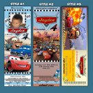 Custom Movie ticket style Birthday Invitation
