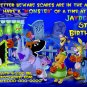 Custom Halloween or Birthday party Invitation