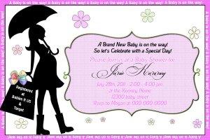 Custom Photo - Baby Shower Invitations Printable Digital file DIY