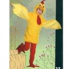 Fuzzy Chicken Costume Size 7-10