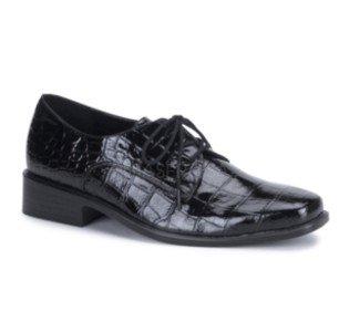 Men's Black Alligator Shoe L (12-13)