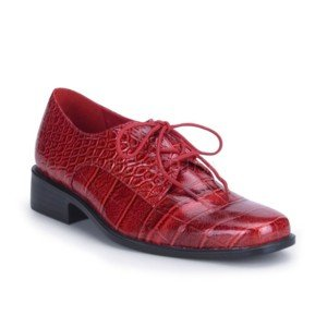Men's Red Alligator Shoe S (8-9)