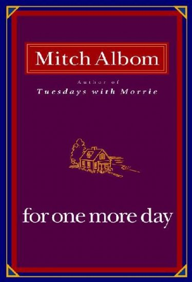 For One More Day - Hardcover