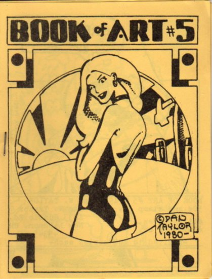 Book of Art no. 5 vintage mini comic 1980