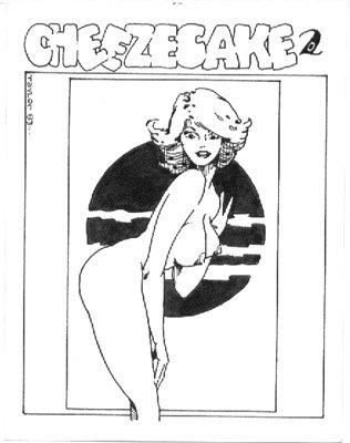 Cheezecake no. 2 Original Cover Art