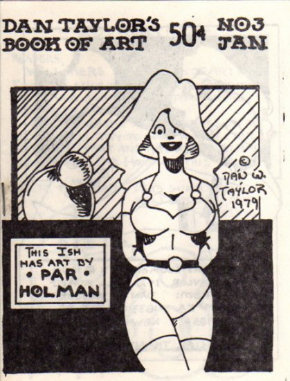 Book of Art no. 3   newave comix 1979