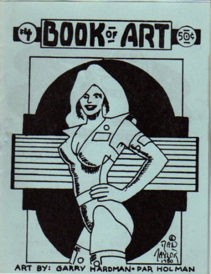 Book of Art no.4 newave comix 1980