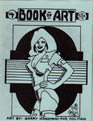 Book of Art no.4 newave comix 1980