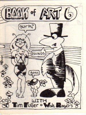 Book of Art no. 6 newave comix 1980