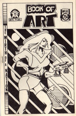 Book of Art no. 10 newave comix 1980