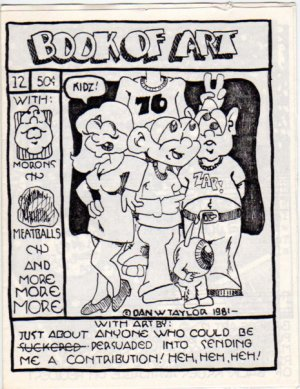 Book of Art no. 12 newave comix 1981