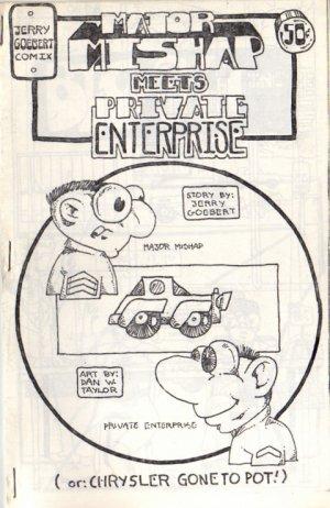 Major Mishap meets Private Enterprise newave comix 1980