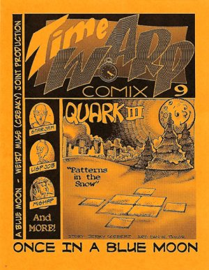 Time Warp comix no. 9