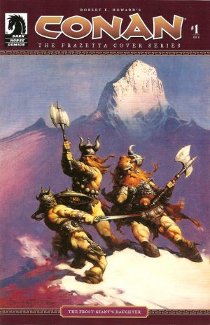 Conan The Frazetta Cover Series no. 1