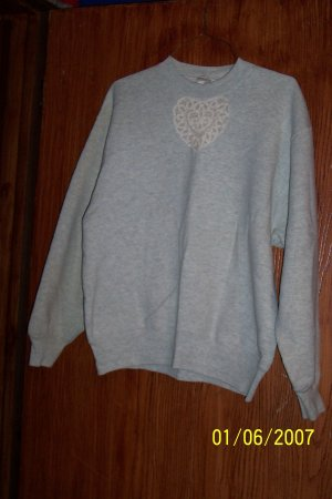 Gray Youth Sweatshirt  SZ M