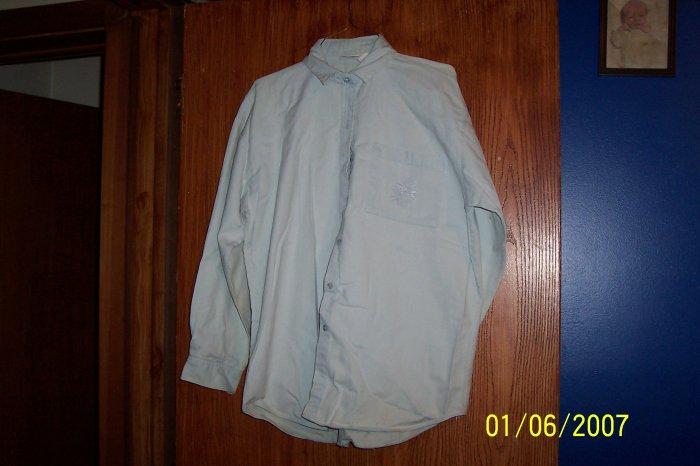 Blue Jean Shirt  SZ M