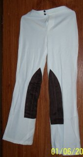 White Dress Slacks  SZ M
