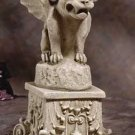 GARGOYLE ON PEDESTIAL