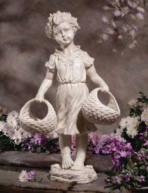 COUNTRY GIRL WITH BASKETS