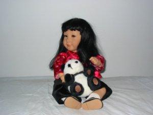 Milee 22 inch Vinyl Apple valley Doll