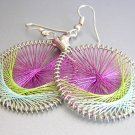 FRESCIA LightWeight Hand Woven Thread Earrings
