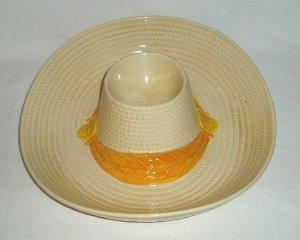 Vintage Metlox Poppytrail Sombrero Chip Dip