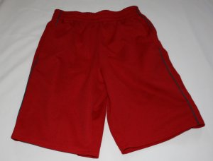 Red Athletic Works Red Shorts  Boys L   (10/12)  NWOT