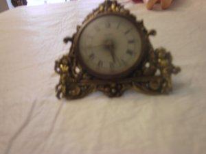 vintage globe clocks