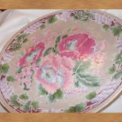 vintage  1800-1849 rose medallion charger
