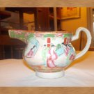 vintage rose medellan pottery
