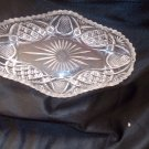 vintage lenox crystal relish trays