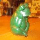 vintage  hard plastic frog banks