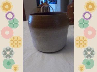 vintage bean pots