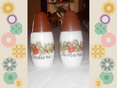 vintage salt & pepper shakers